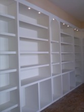 Libreria in cartongesso