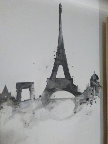 Particolare pittura parete